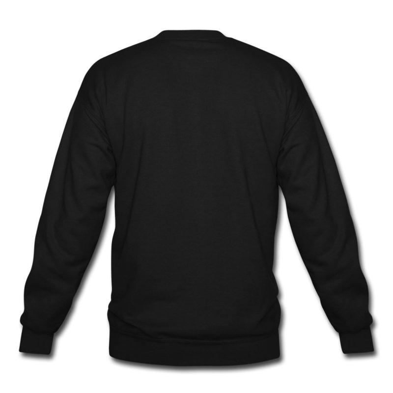 Man sweatshirt tiger head print back