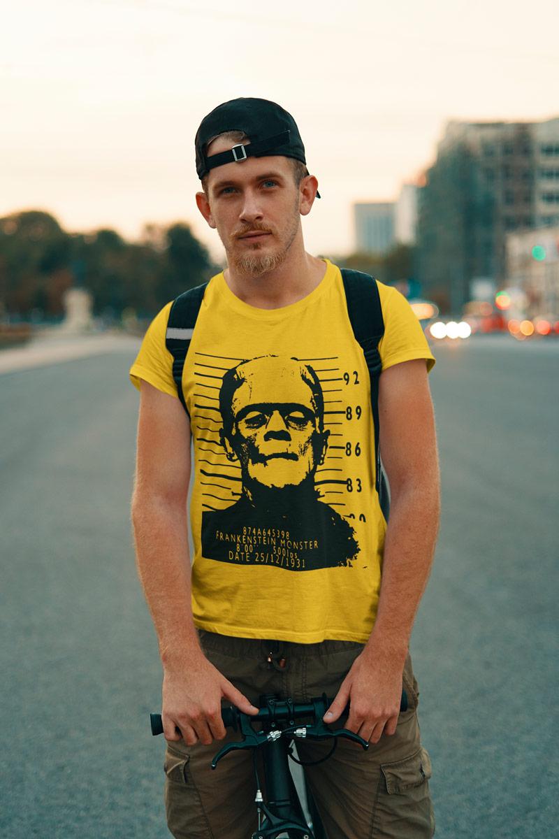 Frankenstein arrested Men's T-Shirt