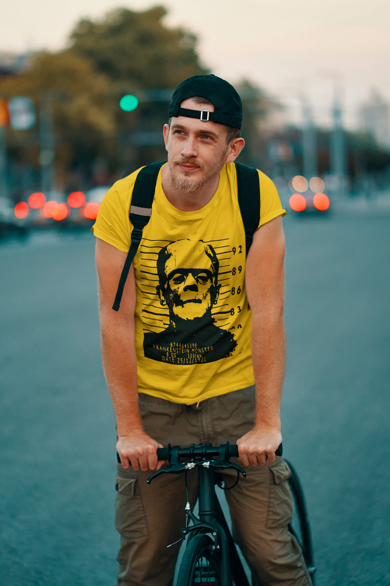 Frankenstein arrested Man's T-Shirt