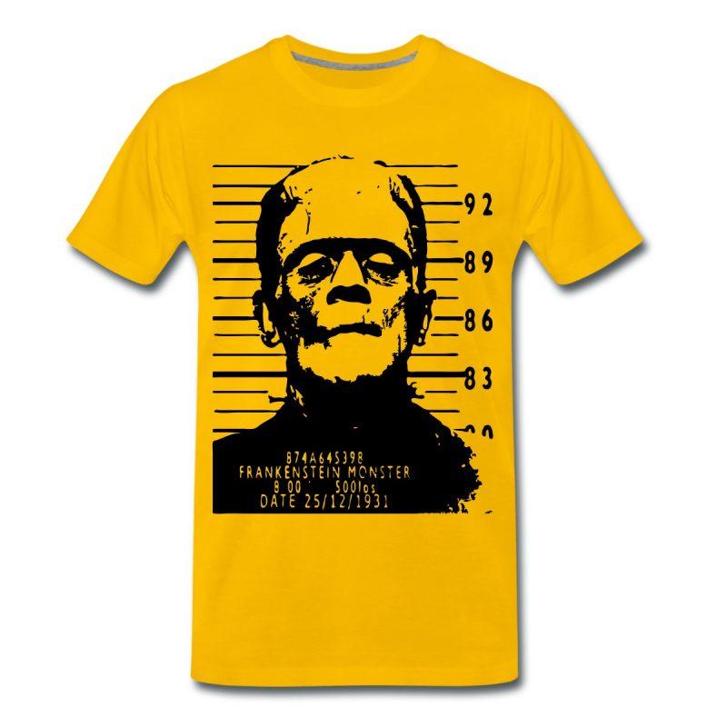 Frankenstein arrested Men's print T-Shirt