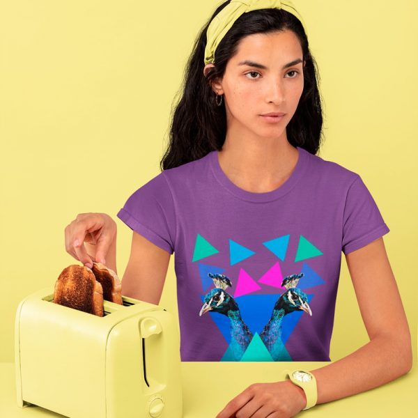 Womaan's Peacocks mono y mona T-shirt