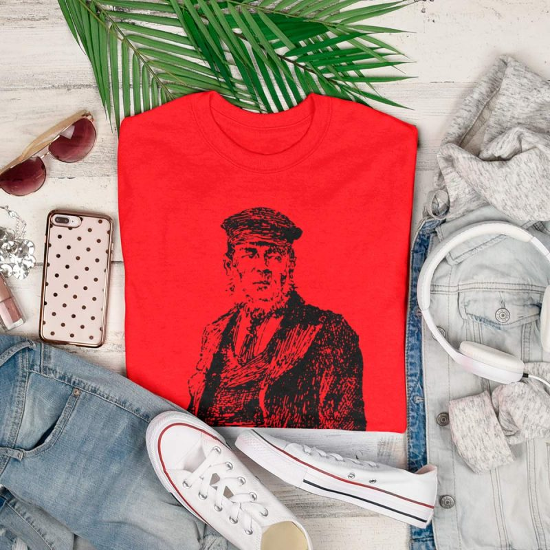 Men's tee the captain print