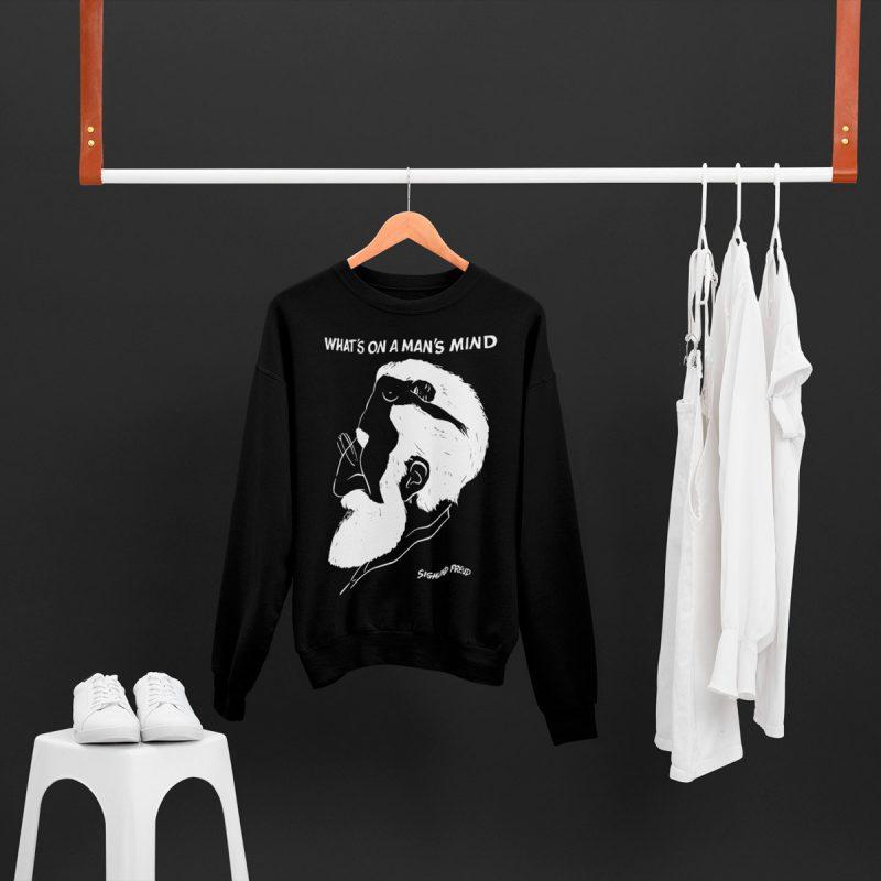 Cool Men's Sweatshirt mono y mona