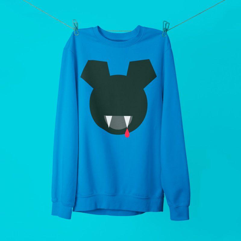 Cool sweatshirts mono y mona