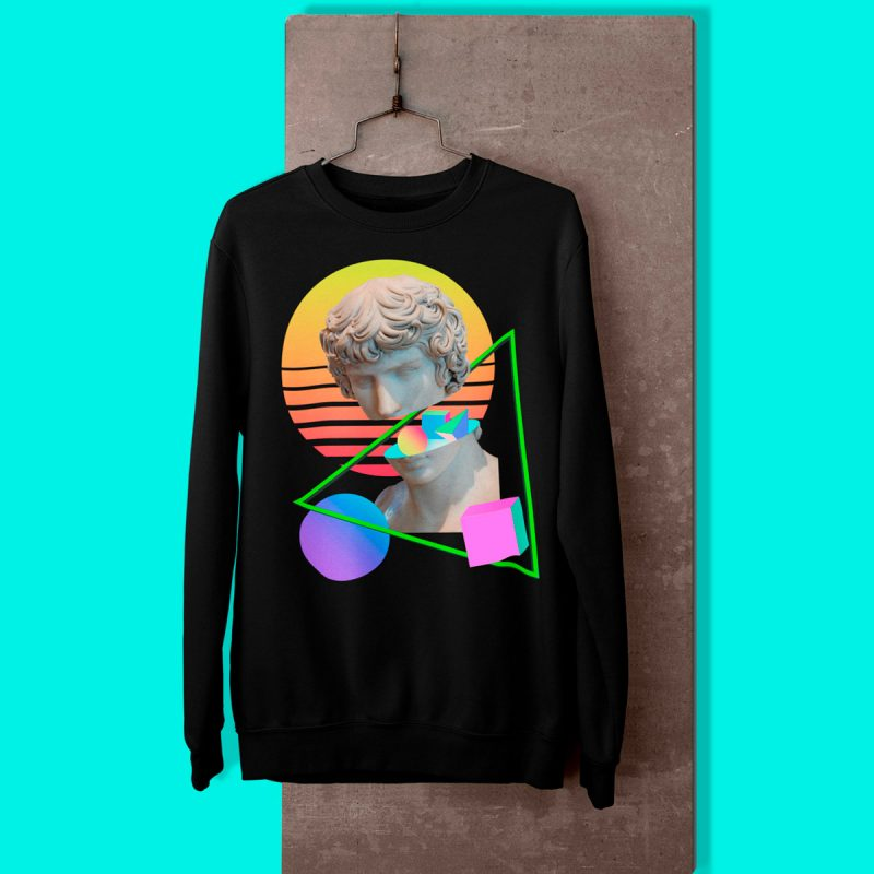 Cool men's sweatshirts mono y mona
