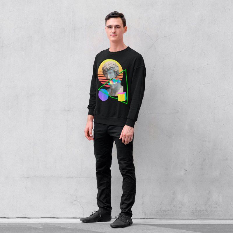 original men's sweatshirts mono y mona