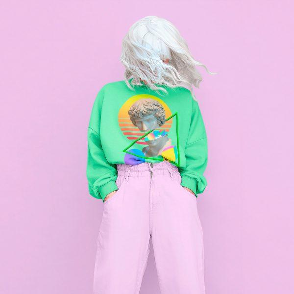 Original women's sweatshirt mono y mona