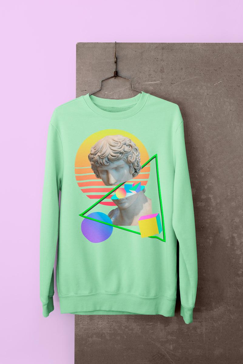 vintage sweatshirt mono y mona