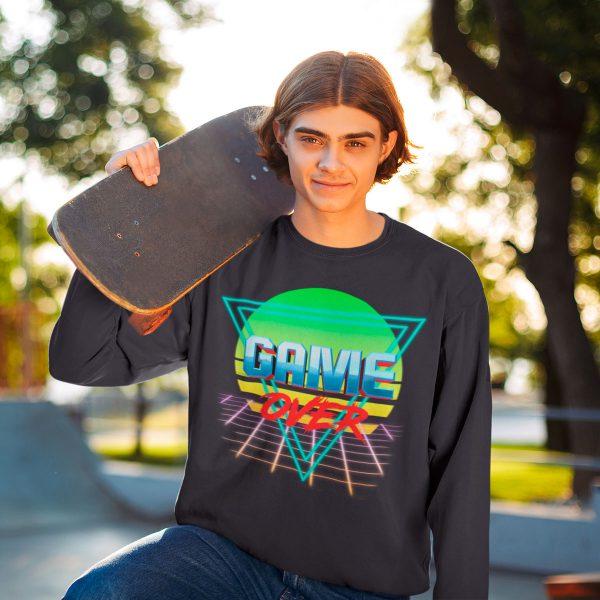 vintage men's sweatshirts mono y mona