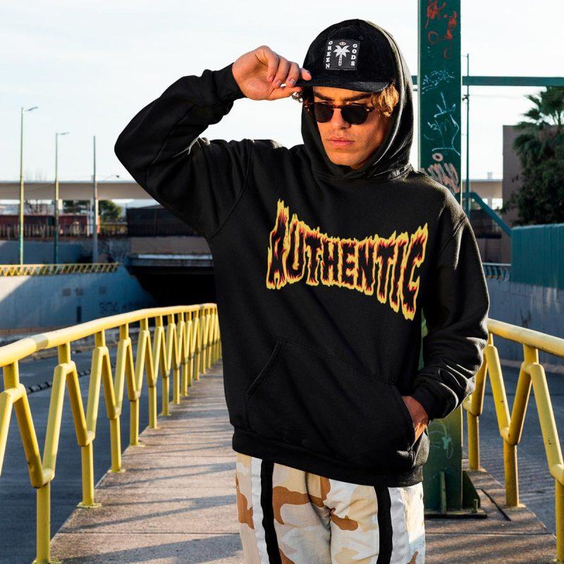 Cool men's hoodies mono y mona