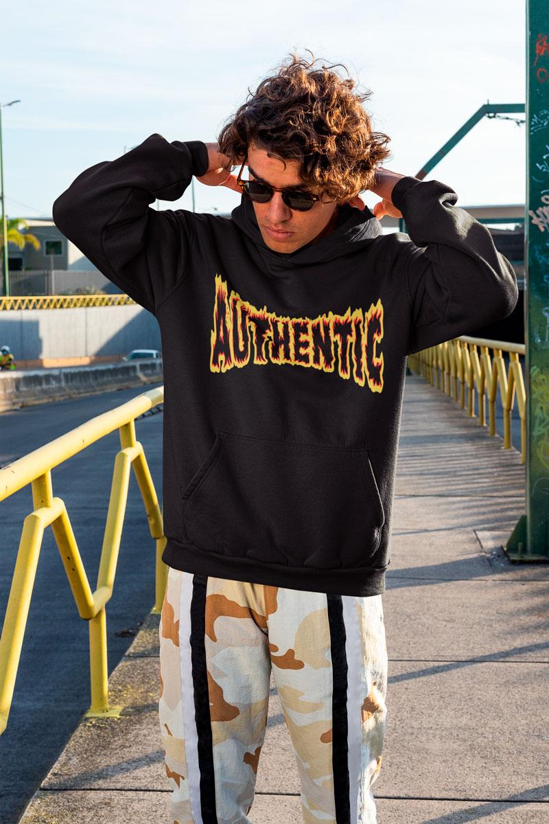 original men's hoodies mono y mona