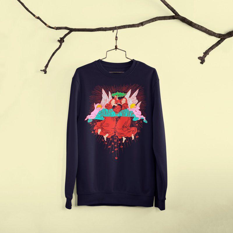 vintage Graphic sweatshirts mono y mona