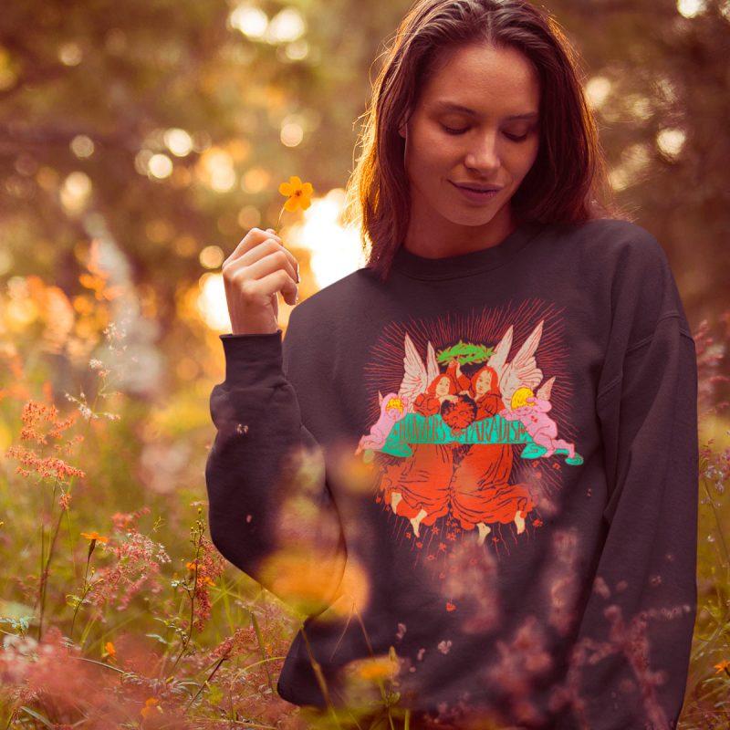 Original women's sweatshirts mono y mona