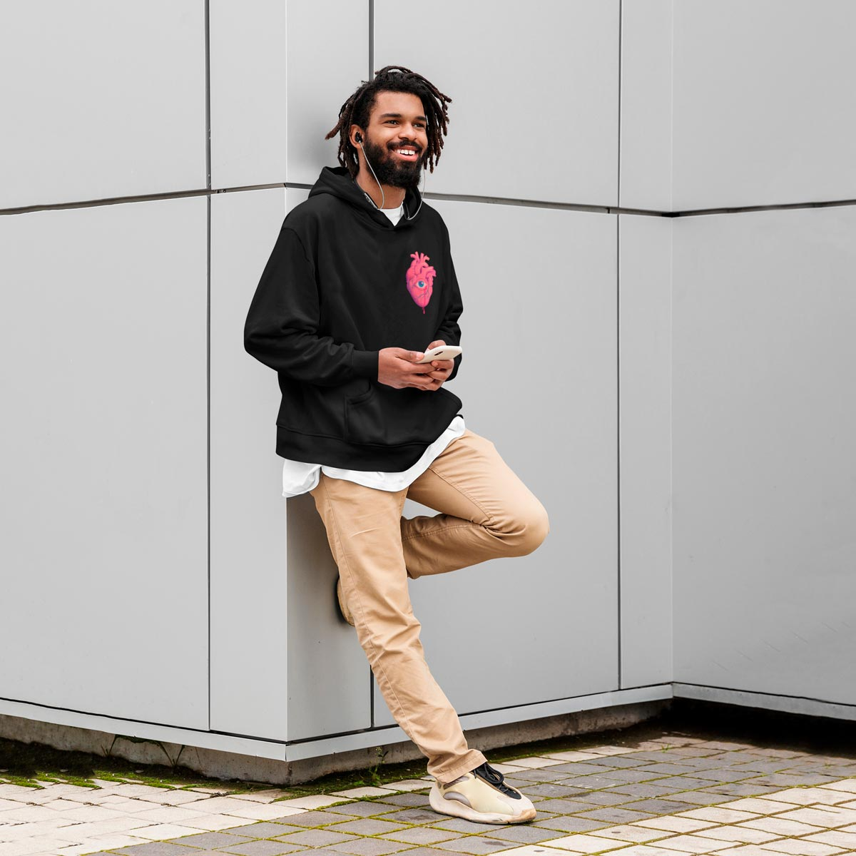 Cool Graphic men's hoodies mono y mona