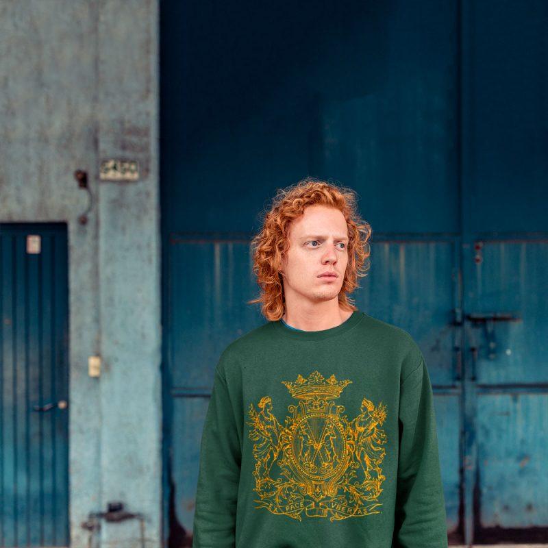 vintage men's graphic sweatshirts mono y mona