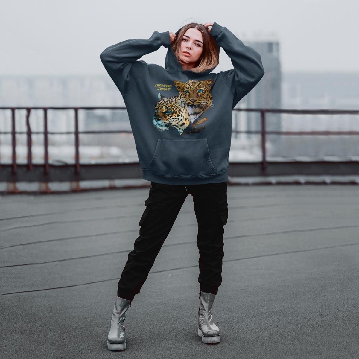 Cool graphic hoodie mono y mona