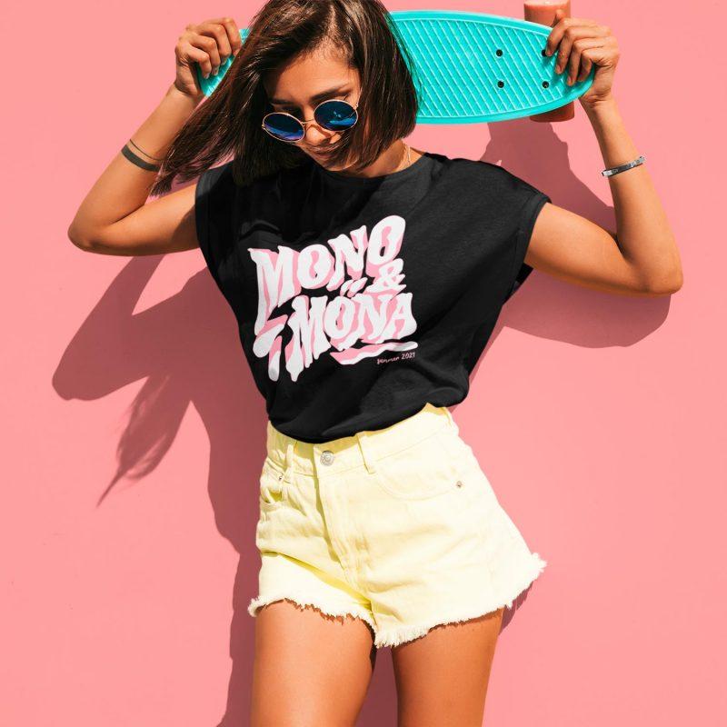 cool women's graphic tees mono y mona