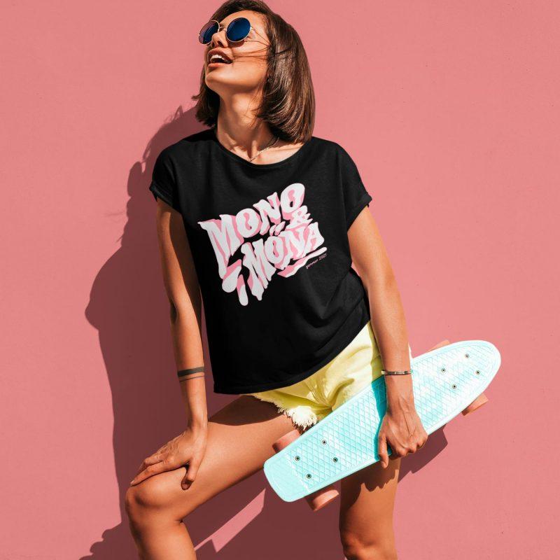 nice women's graphic tees mono y mona